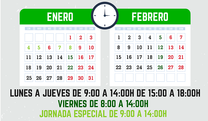 Horario Araprinter