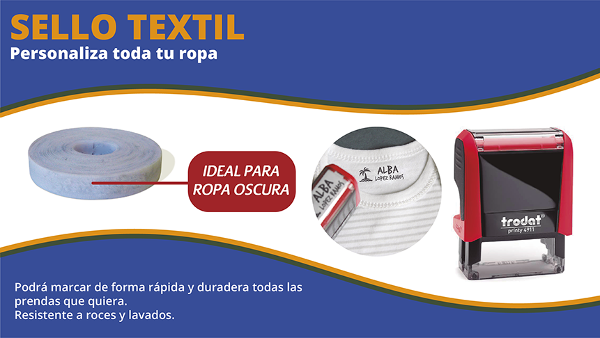 Sello textil